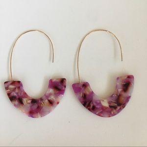 Fuchsia Resin Acrylic Threaders